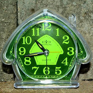 שעון מעורר אנלוגי פלסטיק LED 1 pcs
