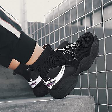 בגדי ריקוד גברים נעלי קלונקי Tissage וולנט אביב קיץ / סתיו חורף ספורטיבי / יום יומי נעלי אתלטיקה ריצה / הליכה נושם לבן / שחור / חאקי