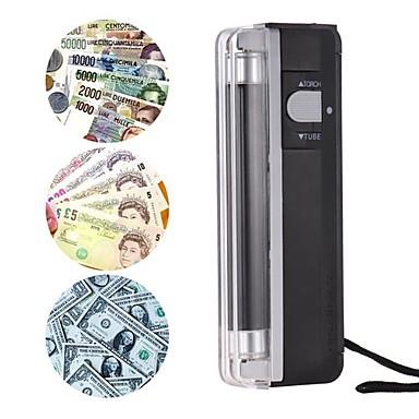 voordelige Test-, meet- & inspectieapparatuur-2-in-1 draagbare mini gelddetector valse contant geld bankbiljet bill checker tester met uv licht zaklamp
