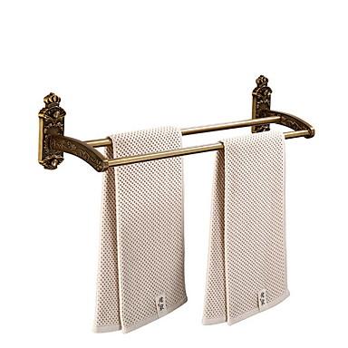 מתלה מגבת יצירתי / רב שימושי עכשווי פליז 1pc מותקן על הקיר