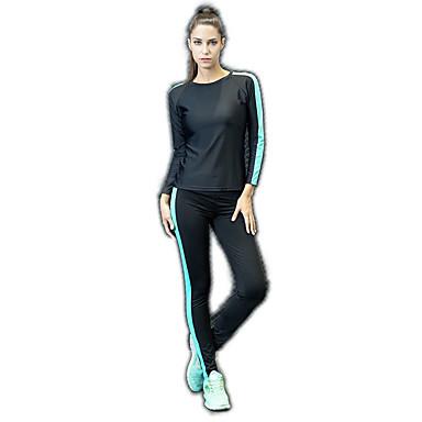 בגדי ריקוד נשים מכנסי יוגה בגדי גוף אמנותיים להתעמלות אלסטיין טייץ רכיבה על אופניים תחתיות לבוש אקטיבי תומך זיעה באט הרם גמישות גבוהה