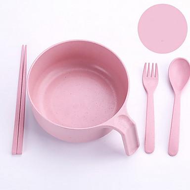 1set סטים לארוחות כלי אוכל פלסטי יצירתי