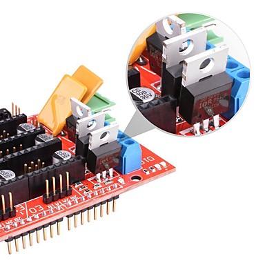 abordables Outils & Equipement-rampes 1.4 carte contrôleur 5pcs drv8825 module pilote stepstick pour imprimante 3d
