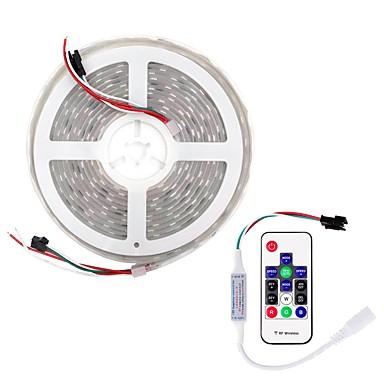 billige LED Strip Lamper-BRELONG® 5 m RGB-lysstriper 300 LED SMD5050 Multifarget Kuttbar / Fest / Dekorativ 12 V 1set