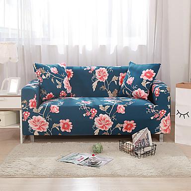billige Møbelbetræk-sofa dækning høj stretch farverige blomst combinatorial blød elastisk polyester slipcovers