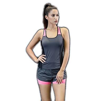 בגדי ריקוד נשים מכנסי יוגה בגדי גוף אמנותיים להתעמלות אלסטיין מכנסיים קצרים לבוש אקטיבי תומך זיעה באט הרם