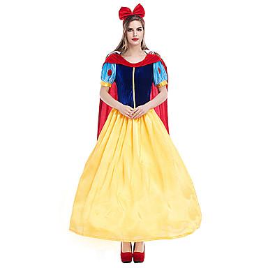 נסיכות Cinderella תחפושות בנושאי קולנוע וטלוויזיה תחפושות קוספליי תחפושת למסיבה תחפושות מבוגרים בגדי ריקוד נשים חג ליל כל הקדושים חג מולד חג המולד האלווין (ליל כל הקדושים) קרנבל פסטיבל / חג Pleuche