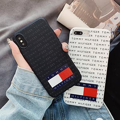 halpa iPhone kotelot-Etui Käyttötarkoitus Apple iPhone XS / iPhone XR / iPhone XS Max Kuvio Takakuori Sana / lause Pehmeä Silikoni