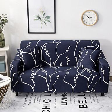 ענפים מודפסים הספה ספה כיסוי כיסא loveseat כיסוי אחד חתיכת סטרץ למתוח נגד להחליק ריהוט מלא מגן