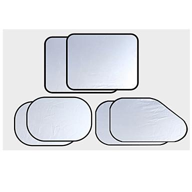 voordelige Auto-interieur accessoires-6 stks / set auto autoruit zonnescherm zilveren coating doek cover uv block auto protecter shield