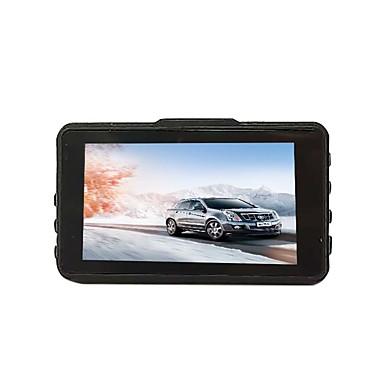 billige Bil-DVR-btutz LCD 1080p Full HD Bil DVR 170 grader Bred vinkel CCD 3 tommers LCD Dash Cam med G-Sensor / Parkeringsmodus / Loop-opptak Bilopptaker