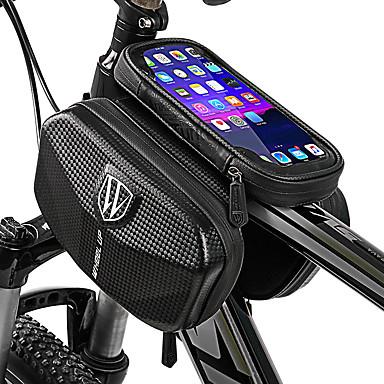 abordables Sacoches de Vélo-Wheel up Sac Cadre Velo 6 pouce Cyclisme pour Cyclisme Autres similaires Taille Téléphones Noir Vélo tout terrain / VTT Vélo de Route Activités Extérieures