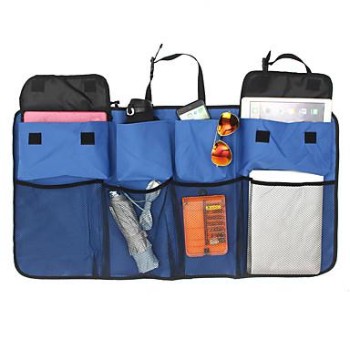 voordelige Auto-interieur accessoires-multifunctionele nylon netten kofferbak opbergtas achterbank opknoping waterfles organisator