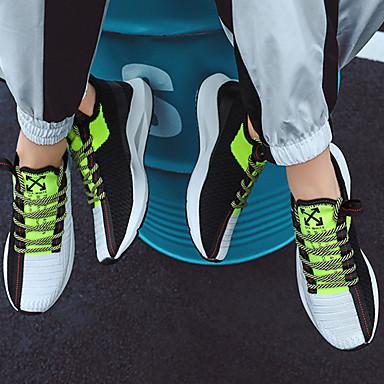 בגדי ריקוד גברים נעלי קלונקי Tissage וולנט אביב קיץ / סתיו חורף ספורטיבי / יום יומי נעלי אתלטיקה ריצה / הליכה נושם קולור בלוק שחור / ירוק / חאקי