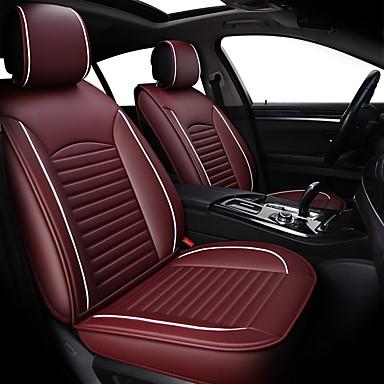 voordelige Auto-interieur accessoires-automotive benodigdheden zomer volledig lederen autostoel zitkussen set koel kussen auto zitkussen vier seizoenen universele vier seizoenen pad