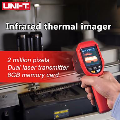 voordelige Test-, meet- & inspectieapparatuur-uni-t infrarood warmtebeeldcamera uti80 tft lcd-scherm dual laser infrarood warmtebeeldcamera -30- 400 temperatuur instrument