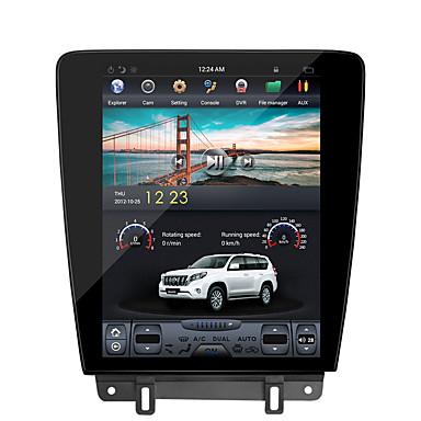voordelige Automatisch Electronica-zwnva tesla-stijl 12.1 inch isp scherm 2g 32g android 7.1 auto geen dvd-speler gps navigatie radio scherm ford mustang 2010 2011 2012 2013 2014