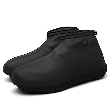 billige Skotilbehør-1 par Herre Overtrekk til sko Standard 3D Print Sport Enkel Stil Silikon EU40-EU46