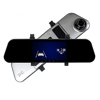 voordelige Automatisch Electronica-ziqiao a5 1080p video / boot automatische opname auto dvr 170 graden 5 inch hd ips touchscreen / achteruitrijcamera visueel / loop video / g-sensor / bewegingsdetectie / parkeerbewaking