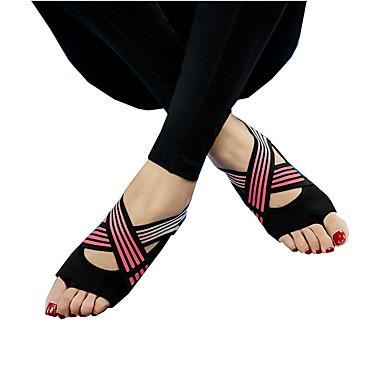 abordables Accessoires pour Chaussures-1 paire Femme Chaussettes Rayé Des sports Style Simple Le gel de silice EU36-EU46