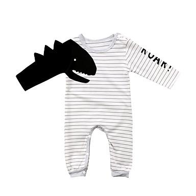 povoljno Odjeća za bebe Za dječake-Dijete Dječaci Aktivan / Osnovni Prugasti uzorak / Print Dugih rukava Jednodijelno Obala