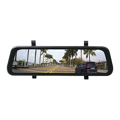 billige Bil-DVR-ziqiao r9 hd nattsyn dobbel linse sprint cam parkering overvåking bakspeil kamera kjører innspilling opptaker parkering overvåking bil videoopptaker