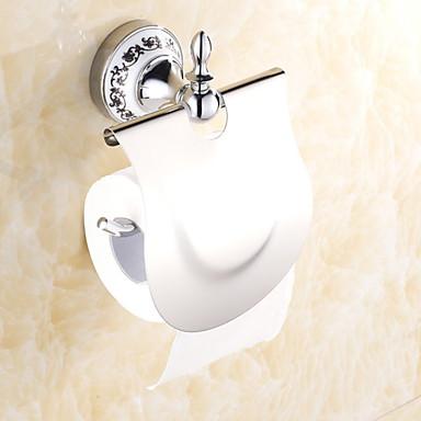 Tuvalet Kağıdı Tutacağı Yaratıcı Çağdaş Titanyum Alaşım 1pc - Banyo Duvara Monte Edilmiş