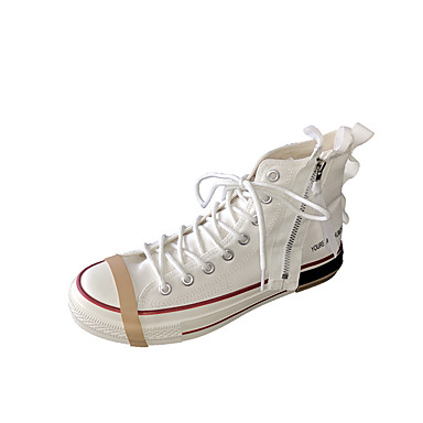 Erkek Ayakkabı Kanvas Bahar / Sonbahar Sportif / Günlük Spor Ayakkabısı Yürüyüş Günlük / Dış mekan için Siyah / Beyaz / Ordu Yeşili