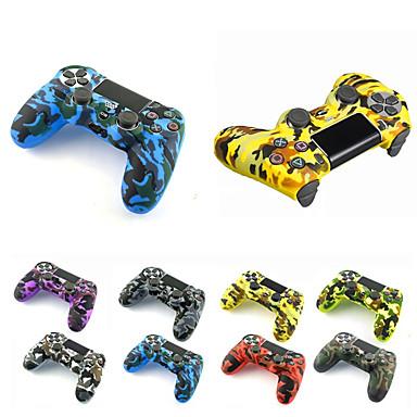 Sony Playstation 4 için oyun denetleyicisi kılıf koruyucu ps4 denetleyici kılıf yumuşak silikon kılıf için ps4 / pro / ince gamepad