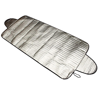 voordelige Auto-zonneschermen & zonnekleppen-150 x 70 cm auto-styling voorruit cover warmte zonnescherm anti sneeuw frost ice shield stof beschermer