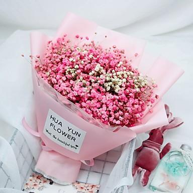 Yapay Çiçekler 1 şube Klasik Modern Çöven Otu Sonsuz Çiçekler Masaüstü Çiçeği