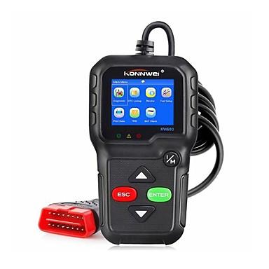 povoljno OBD-konnwei kw680 čitač koda greške motora dijagnostički alat za skeniranje obd