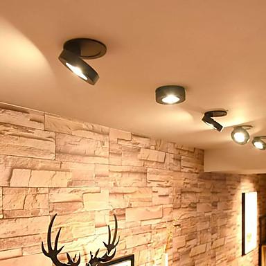 billige Innendørs LED-lys-1pc 10w ultratynt taklampe downlight 360 grader rotasjonsfunksjon forsynt ledet lysarmatur 85-265v
