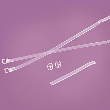 baratos Cadarços-2pçs silica Gel Cadarços Unisexo Casual Branco