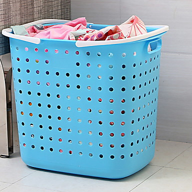 Çamaşır sepeti Plastik Sıradan 1 Saklama Çantası Ev Saklama Poşetleri