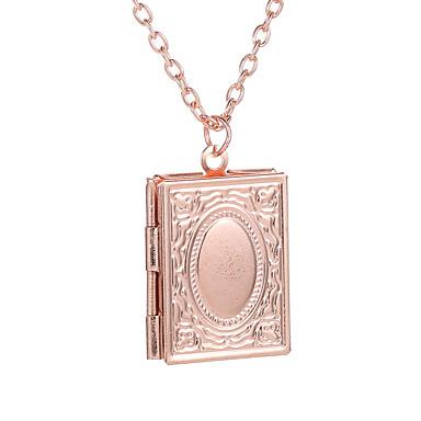 voordelige Herensieraden-Heren Dames Ketting Kromi Zwart / Grijs Goud Rose Goud Zilver 53 cm Kettingen Sieraden 1pc Voor Feestdagen