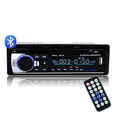 voordelige Automatisch Electronica-bluetooth v2.0 ou-520 stereo autoradio autoradio 12v in-dash 1 din fm aux-ingang ontvanger sd usb mp3 mmc wma car audio speler