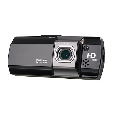 abordables DVR de Voiture-1080p Full HD / Enregistrement automatique de démarrage DVR de voiture 170 Degrés Grand angle 2.7 pouce LCD Dash Cam avec Vision nocturne / G-Sensor / Enregistrement en Boucle Enregistreur de voiture