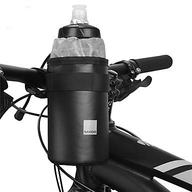 billige Sykkelvesker-0.5 L Vesker til sykkelstyre Bærbar varmelagrende Holdbar Sykkelveske Klede 600D polyester Sykkelveske Sykkelveske Sykling Sykkel