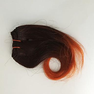 voordelige Weaves van echt haar-4 bundels Maleisisch haar Golvend Echt haar Patroon 8 inch(es) Menselijk haar weeft Extensions van echt haar