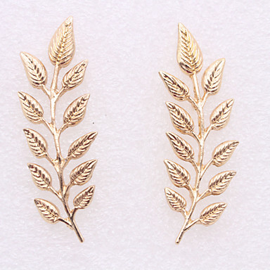 b3ed90422 Women's Brooches Retro Leaf Cute Brooch Jewelry Gold Silver For Party Daily  Festival