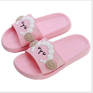 baratos Sapatos de Criança-Para Meninos / Para Meninas EVA Chinelos e flip-flops Little Kids (4-7 anos) Conforto Preto / Azul / Rosa claro Verão