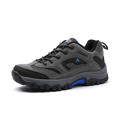 Erkek Ayakkabı Örümcek Ağı / PU Sonbahar Sportif Atletik Ayakkabılar Dağ Yürüyüşü Atletik için Ordu Yeşili / Gri / Haki / Zıt Renkli
