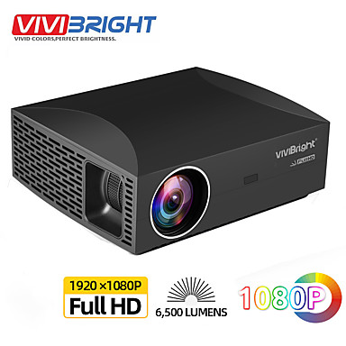 voordelige Projectors-vivibright f30 full hd-projector, 1920x1080p pixel, 3d led lcd beamer voor thuisbioscoop. Android-versie f30up ondersteunt 4k video 5g wifi bluetooth hdmi usb android-systeem