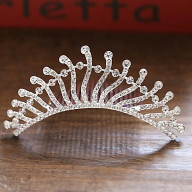 voordelige Dames Sieraden-Dames Bruids Prinses Legering kleine diamant Haarkammen Haarsieraden Haar charmes Bruiloft