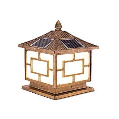 billige Utendørsbelysning-QIHengZhaoMing 1pc 20 W plen Lights Vanntett / Solar Varm hvit 3.2 V Courtyard 20 LED perler