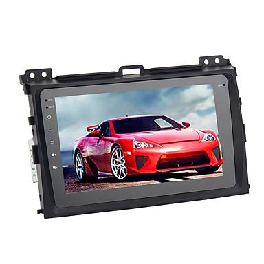 voordelige Automatisch Electronica-8 inch Android 8.0 4G RAM 32G ROM GPS Navigator touchscreen Auto MP5-speler Auto DVD-speler voor Toyota Prado 2004-2009