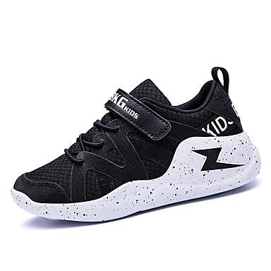 Genç Erkek Örümcek Ağı / PU Atletik Ayakkabılar Büyük Çocuklar (7 yaş +) Rahat Koşu Siyah / Gri Sonbahar
