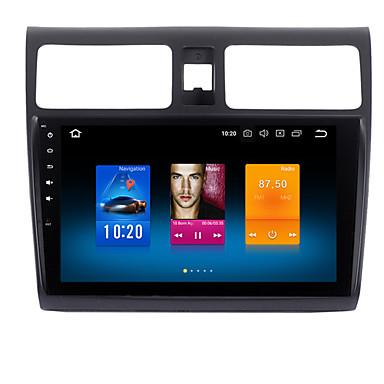 voordelige Automatisch Electronica-10.2 inch Auto GPS Navigator Auto DVD speler Android 8.0 1 DIN 4GB 32GB voor Suzuki Swift 2005-10