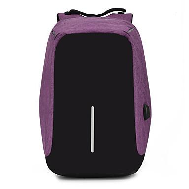 abordables Sacs-Unisexe Fermeture Sac de Sports & Loisirs Etanche Polyester / Nylon Bloc de Couleur Noir / Violet / Bleu